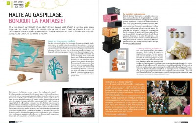 presse le magazine nouveau consommateur parle de l 39 atelier chez soi atelierchezsoi. Black Bedroom Furniture Sets. Home Design Ideas