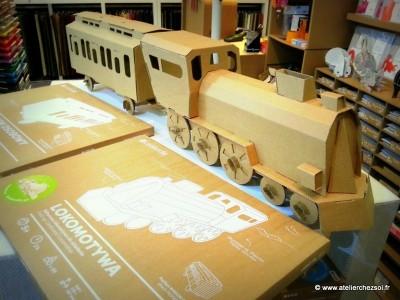Connu Le train en carton Leolandia Testé par L'Atelier Chez Soi JD93