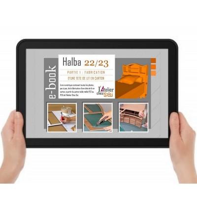 Nouveau patron ebook la t te de lit en carton halba for Tete de lit en carton