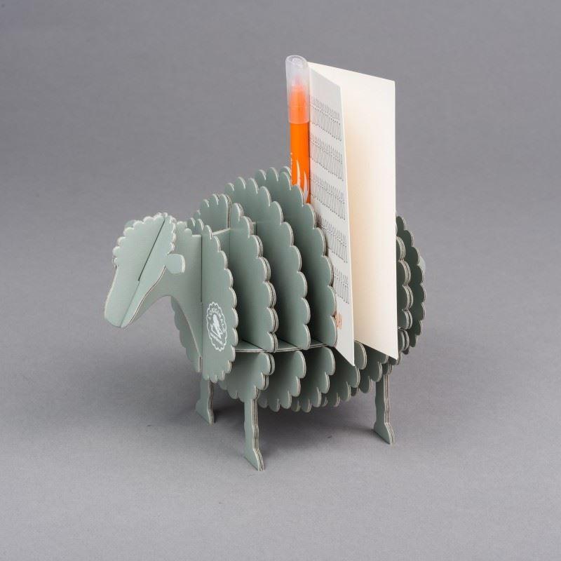 kit mouton en carton gris construire taille s cocorikraft. Black Bedroom Furniture Sets. Home Design Ideas