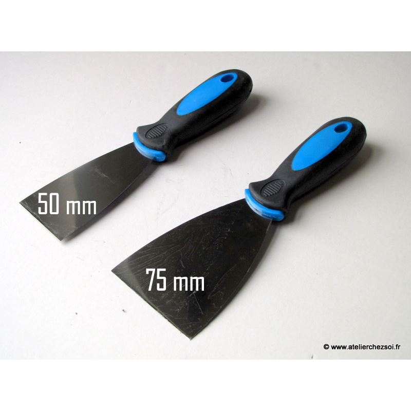 couteau enduire bi mati re 75 mm de l 39 atelier chez soi. Black Bedroom Furniture Sets. Home Design Ideas