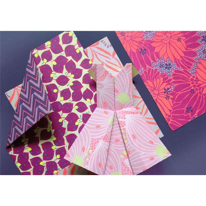 origami violet 36 feuilles bifaces mon petit art de l 39 atelier chez soi. Black Bedroom Furniture Sets. Home Design Ideas