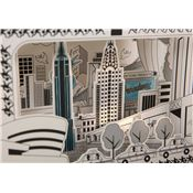 Coloriage 3D Ville de New York Mon Petit Art