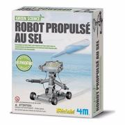 Kit scientifique Robot propulsé au sel à fabriquer 4M Green Science