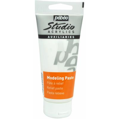 Pâte à relief Modeling Paste Tube 100ml Pébéo
