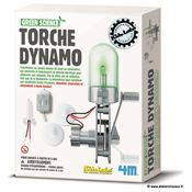 Kit scientifique Lampe Dynamo à fabriquer 4M Green Science