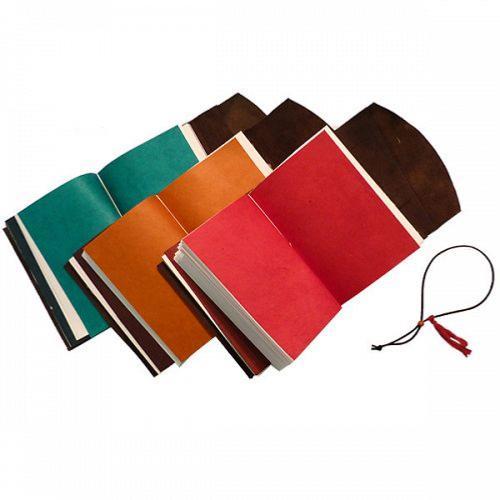 921735c8df8b Carnet voyage Cuir Véritable Rechargeable 16x21cm 3 cahiers L increvable  Lamali