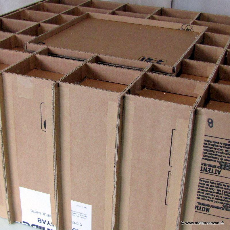 Patron de meuble en carton table basse hoxane de l - Patron meuble en carton gratuit ...