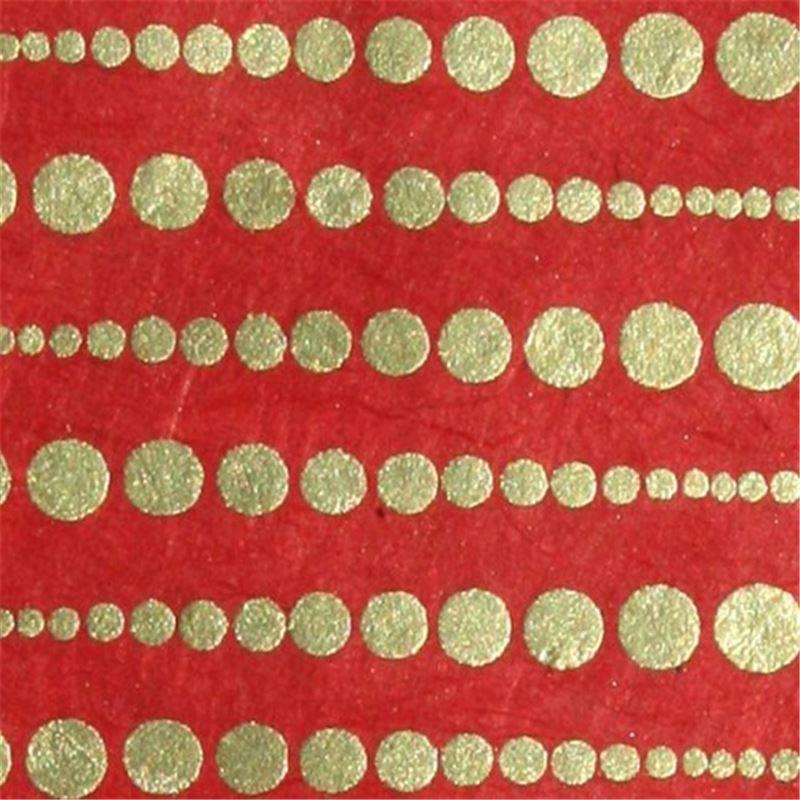 papier n palais perle m tal rouge 50x75 cm de l 39 atelier chez soi. Black Bedroom Furniture Sets. Home Design Ideas
