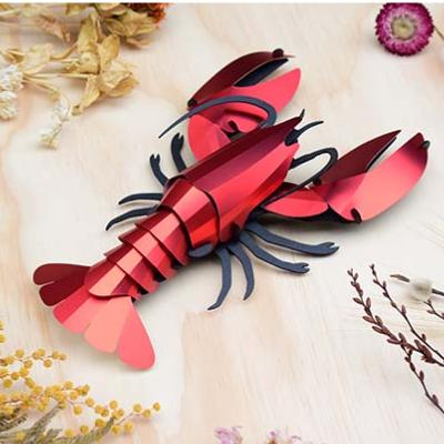 Kit de fabrication 1 Homard Rouge Géant 25 cm Lobster Assembli