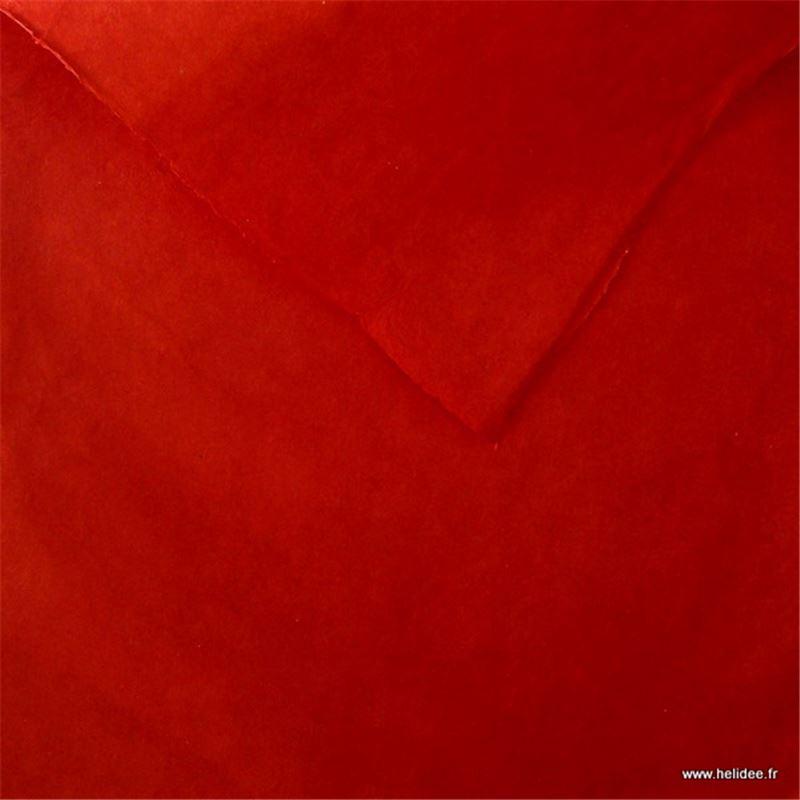 papier n palais uni couleur rouge 50x75 cm de l 39 atelier chez soi. Black Bedroom Furniture Sets. Home Design Ideas