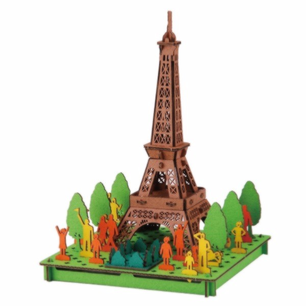 mini maquette tour eiffel paris 3d pusu pusu hacomo. Black Bedroom Furniture Sets. Home Design Ideas