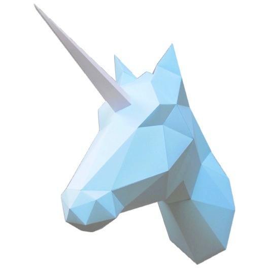 Kit troph e origami licorne cheval papier fabriquer - Papier toilette licorne ...