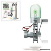 Fabrique une Lampe Dynamo - 4M Green Science