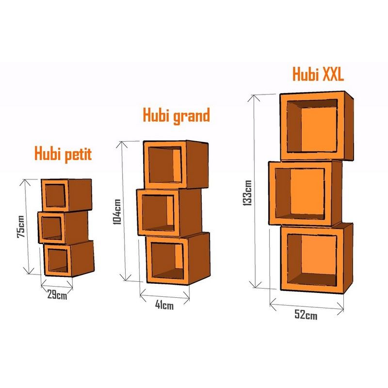 Patron de meuble en carton module hubi petit de l for Code meubles concept