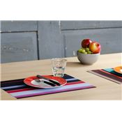 Sets de table en papier rayés Stripes x48 Remember