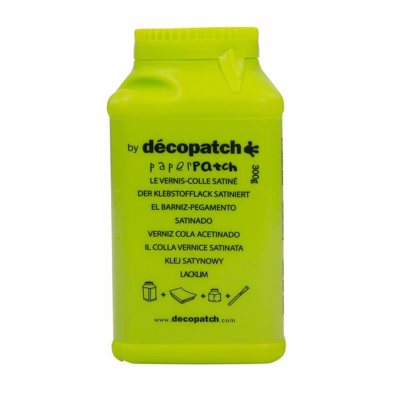 Vernis Colle Paperpatch Pour Décopatch 300g Satiné