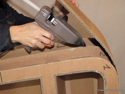 Comment apprendre cr er ses meubles en carton - Fabrication de meubles en carton ...