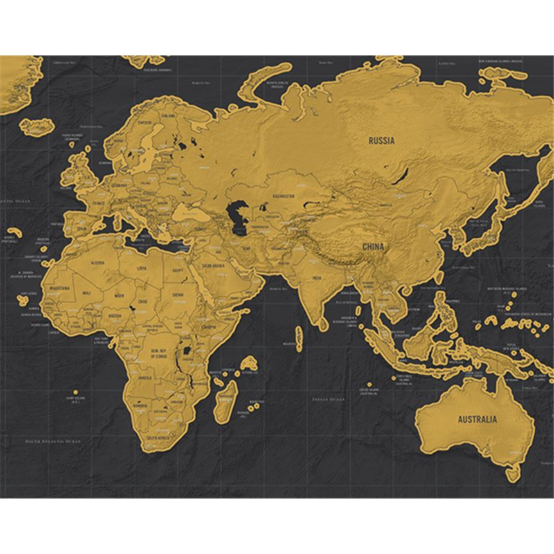 carte du monde gratter scratch map version luxe de l 39 atelier chez soi. Black Bedroom Furniture Sets. Home Design Ideas