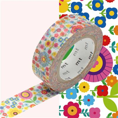 Masking Tape motif Liberty Rouleau 15mm x 10m