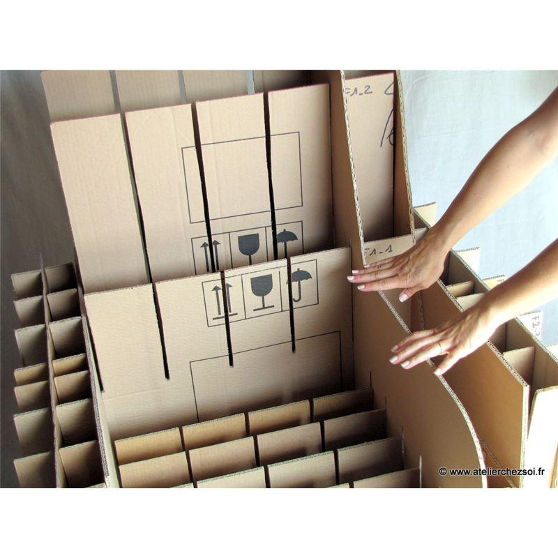 patron de meuble en carton fauteuil hadam adulte de l 39 atelier chez soi. Black Bedroom Furniture Sets. Home Design Ideas