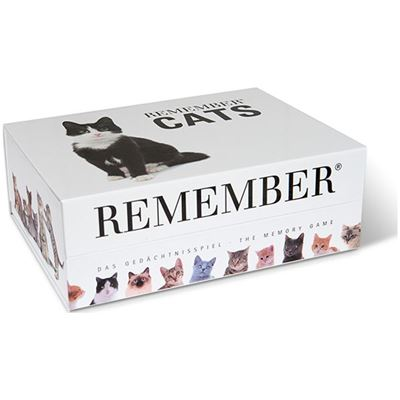 Jeu de Memory Chats 44 paires Remember