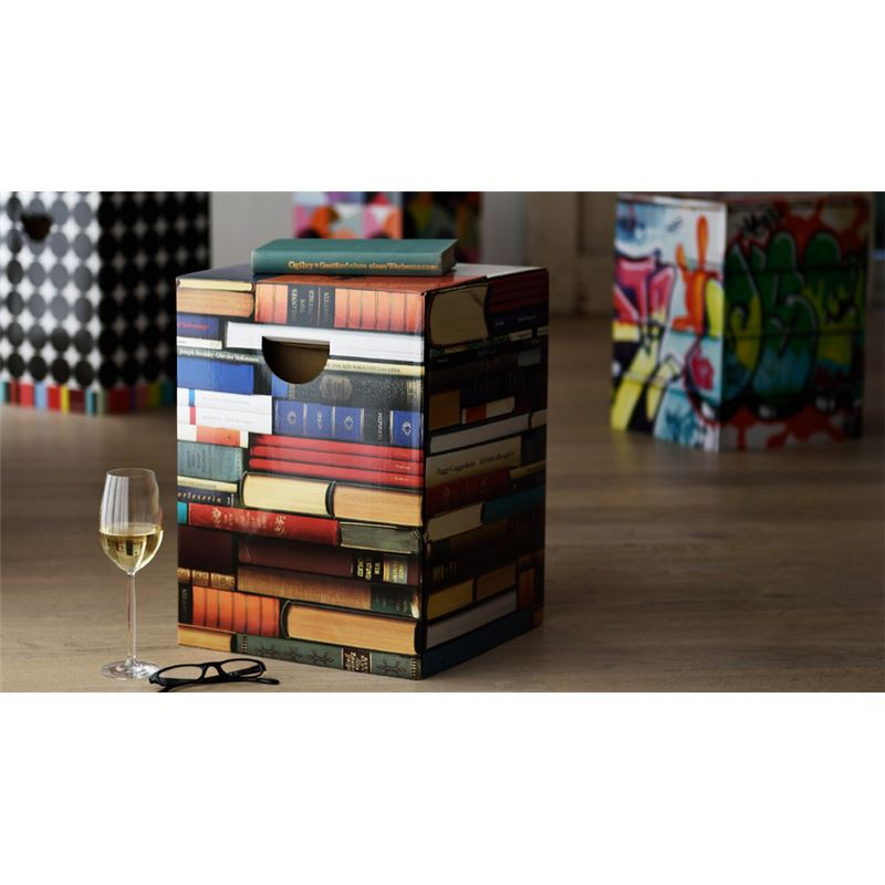 tabouret en carton biblioth que remember meuble en kit. Black Bedroom Furniture Sets. Home Design Ideas