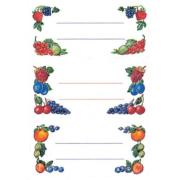 Etiquettes autocollantes Fruits 76x35mm Lot de 12 Herma