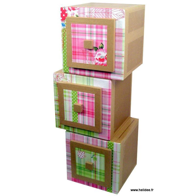 patron de meuble en carton module hubi grand de l 39 atelier chez soi. Black Bedroom Furniture Sets. Home Design Ideas