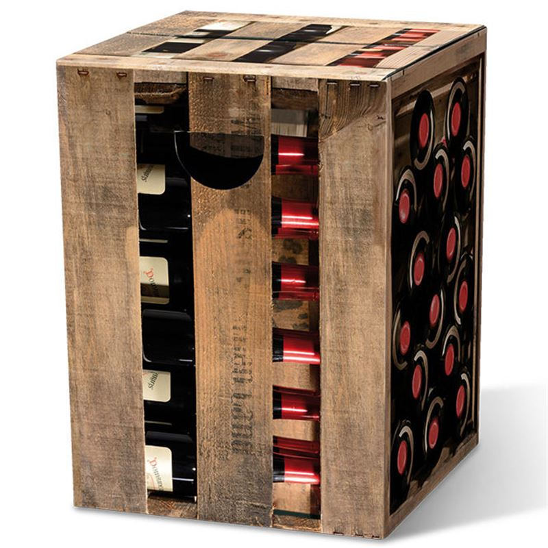 tabouret en carton caisse de vin remember meuble en kit. Black Bedroom Furniture Sets. Home Design Ideas