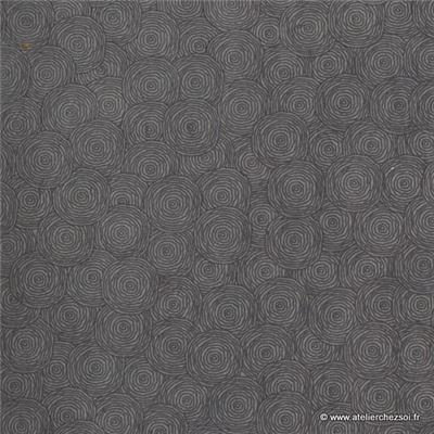 papier n palais rondanlo gris 50x75 cm de l 39 atelier chez soi. Black Bedroom Furniture Sets. Home Design Ideas