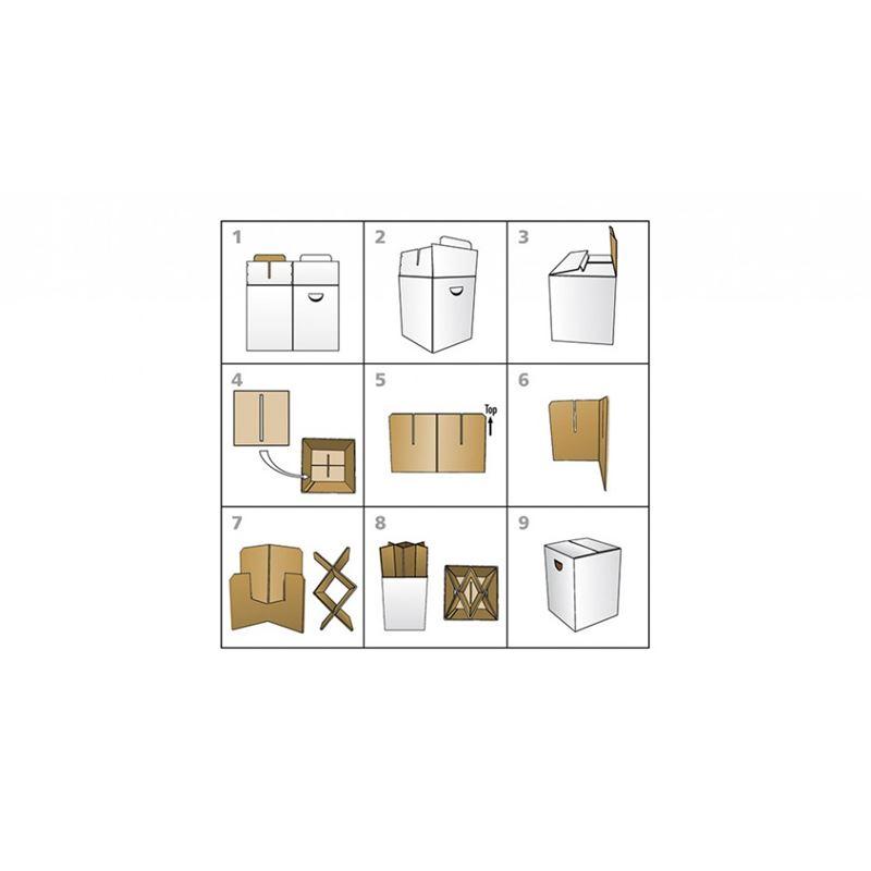 tabouret en carton buche remember meuble en kit. Black Bedroom Furniture Sets. Home Design Ideas