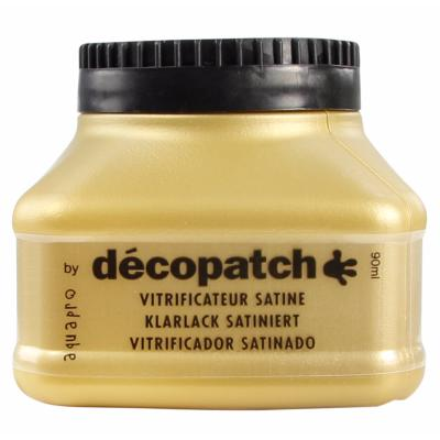 Vitrificateur Aquapro Satin 90 ml Décopatch