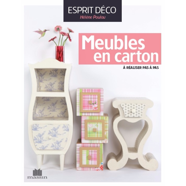 livre meubles en carton de h l ne poulou de l 39 atelier chez soi. Black Bedroom Furniture Sets. Home Design Ideas
