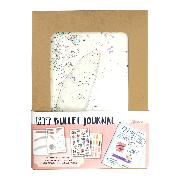 Kit Bullet Planner 14 x 19cm : pochoirs, carnet, stickers, marque-pages
