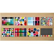 Sets de table papier motifs Mix x48 Remember