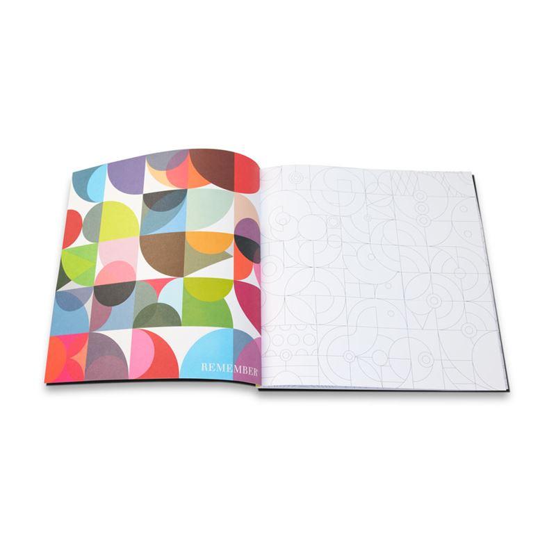 Grand Livre De Coloriage 30x30 Cm 96p Remember