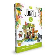 Le Royaume de la Jungle Maquette 3D et Livre Sassi Junior