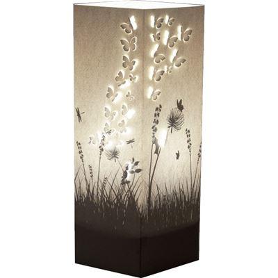 lampe poser jardin et envol e de papillon wlamp de l 39 atelier chez soi. Black Bedroom Furniture Sets. Home Design Ideas