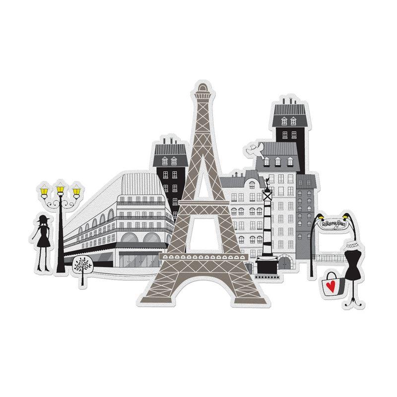 Coloriage 3d Ville De Paris Mon Petit Art De Latelier Chez Soi