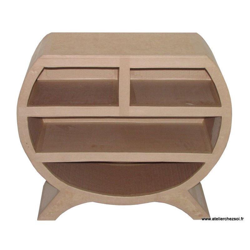 patron meuble en carton commode en carton heden petite