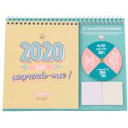 Calendrier de Table 2020 Allez Surprends-moi Mr Wonderful