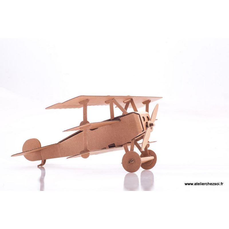 Avion en carton baron rouge construire leolandia de l - Construire des meubles en carton ...