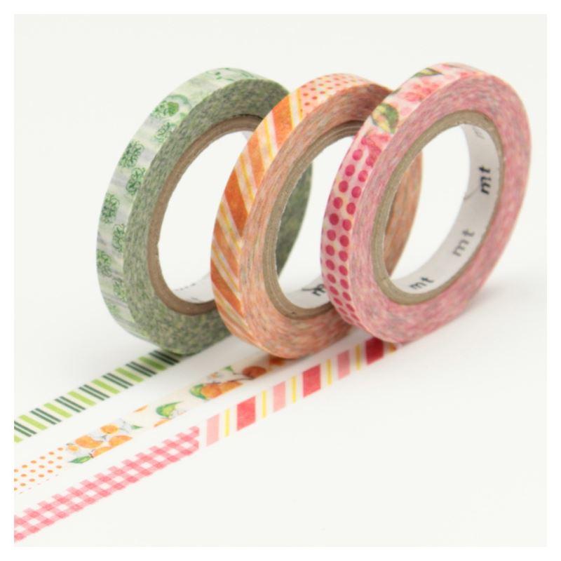 masking tape slim deco d set 3 rouleaux 6mm x 10m de l 39 atelier chez soi. Black Bedroom Furniture Sets. Home Design Ideas