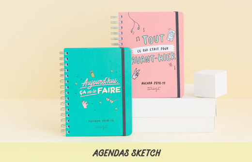 agendas mr wonderful 2018-2019 sketch