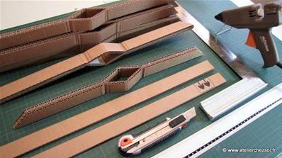 Fabrique Un Grand Sapin De Noel En Carton Fiche Creative