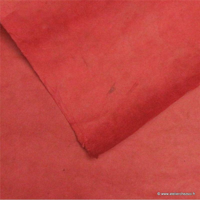 papier n palais uni couleur rouge carmin 50x75 cm de l 39 atelier chez soi. Black Bedroom Furniture Sets. Home Design Ideas