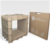 kits meubles en carton pr t monter l 39 atelier chez soi. Black Bedroom Furniture Sets. Home Design Ideas