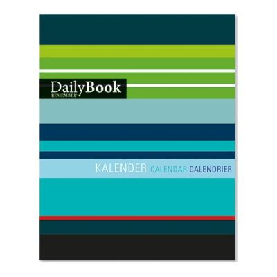 Recharge pour DailyBook Cahier Calendrier mensuel Remember