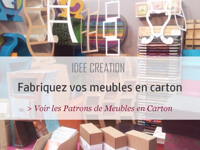 68ae66374554 L Atelier Chez Soi - Meubles en carton, Décoration, Loisirs créatifs